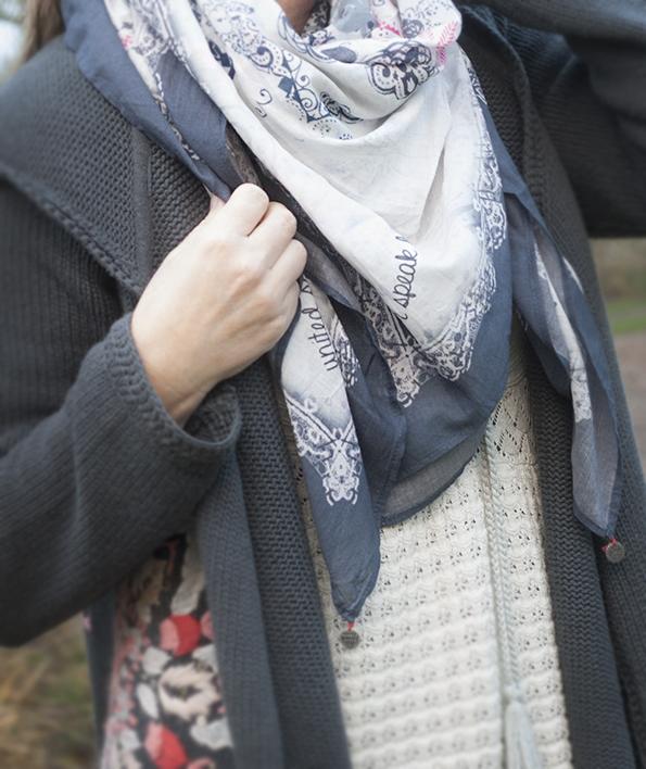 Odd-molly-tørklæde